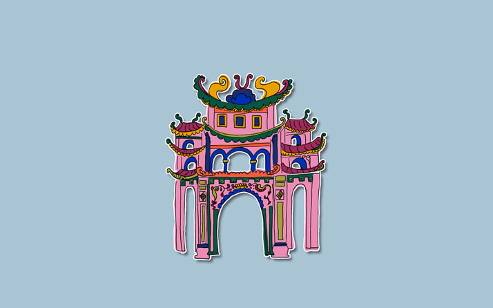 Vietnam colouring book
