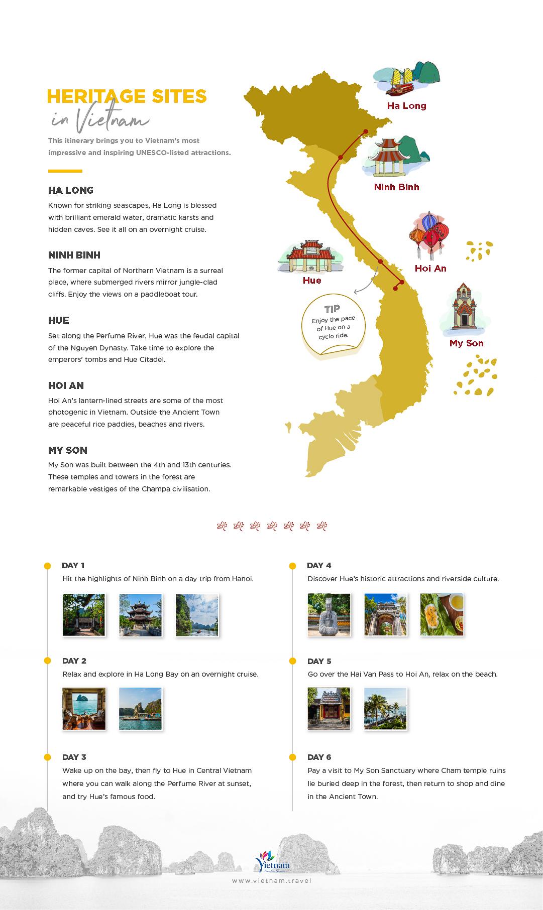 best heritage sites of vietnam