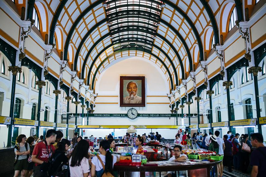 Saigon Central Post Office Must See HCMC by Aaron Joel Santos