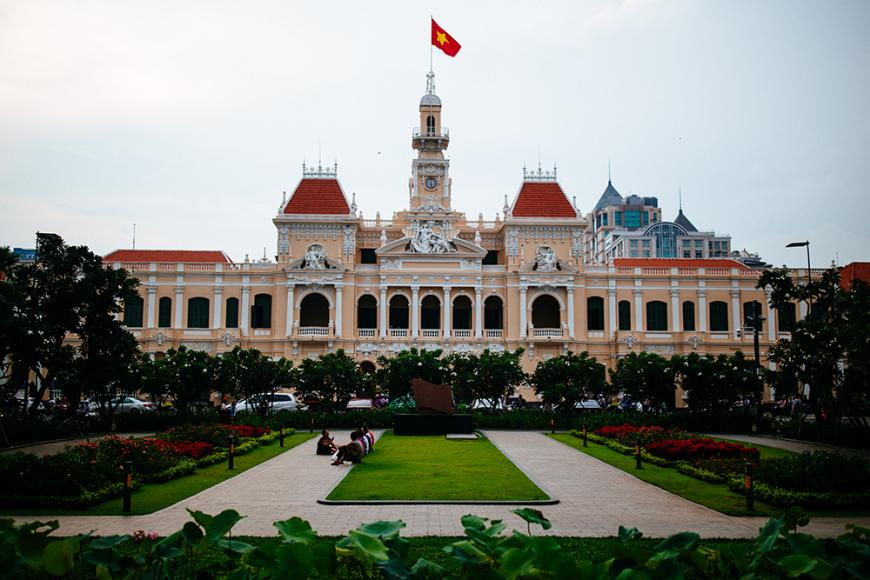 Nguyen Hue City Hall Must See HCMC by Aaron Joel Santos