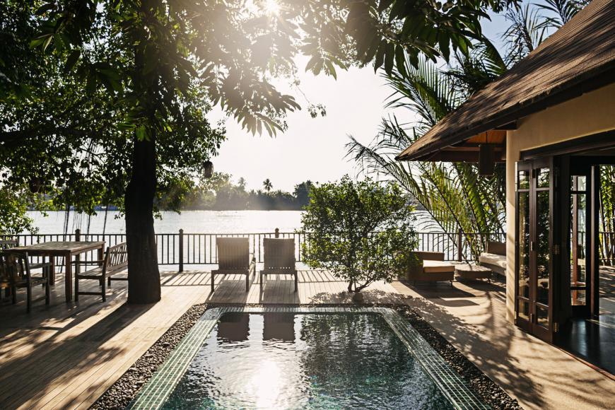 An unadulterated view of the Saigon River at your own private villa. Photo courtesy of An Lam.