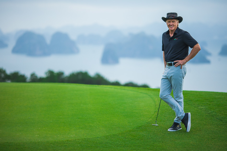 virtual golf tours greg norman