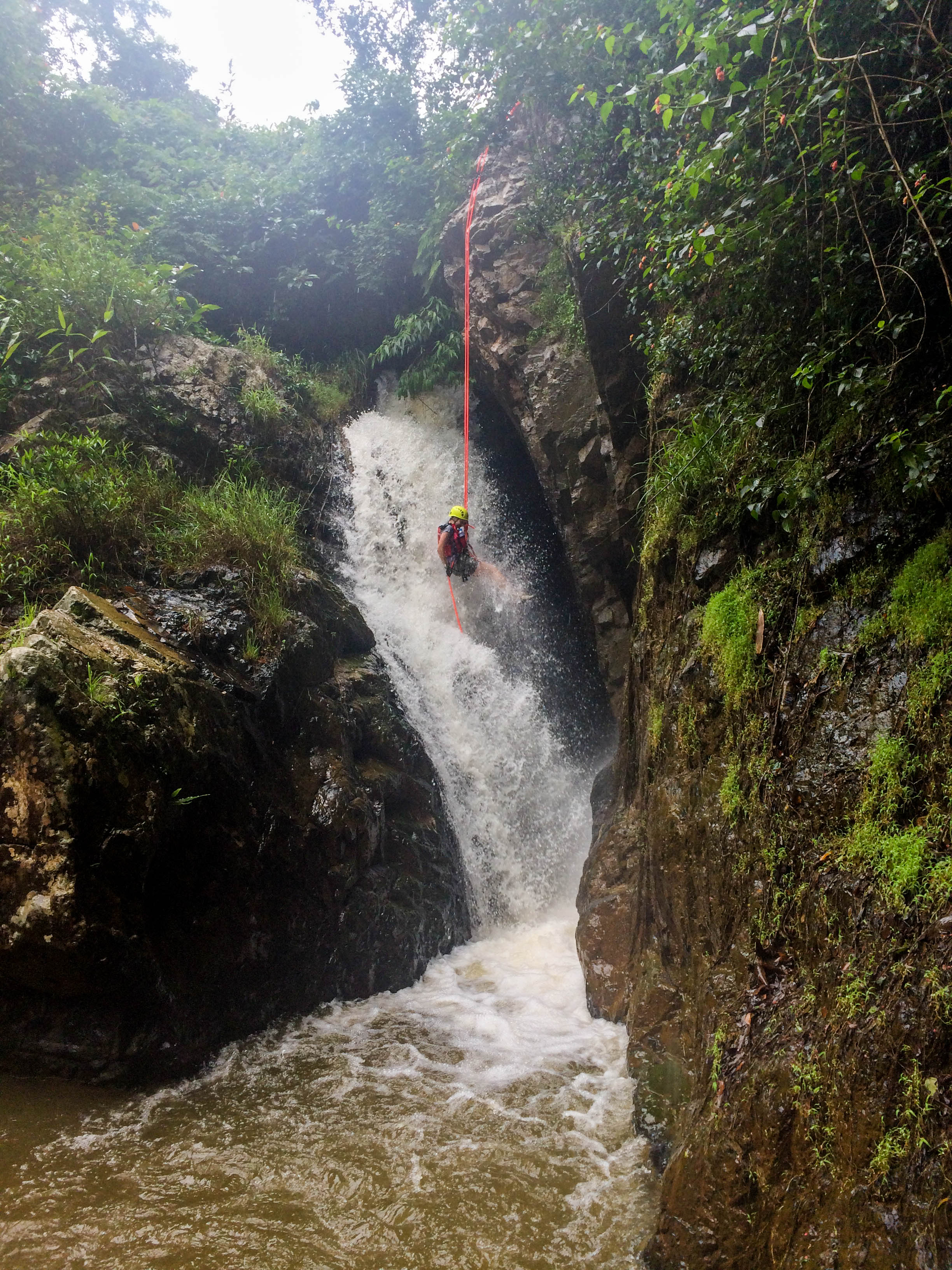 More canyoning