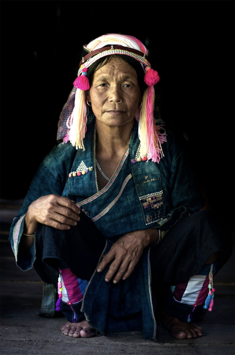 pink ha nhi ethnic group vietnam