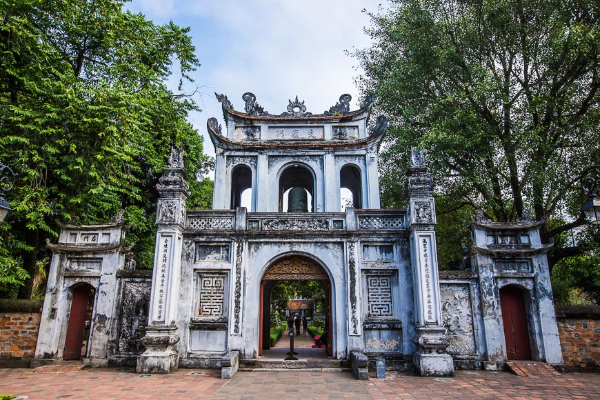 Temple of Literature Vietnam Tourism