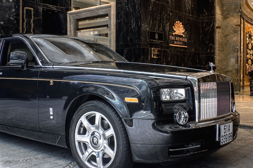 rolls royce phantom dragon reverie saigon