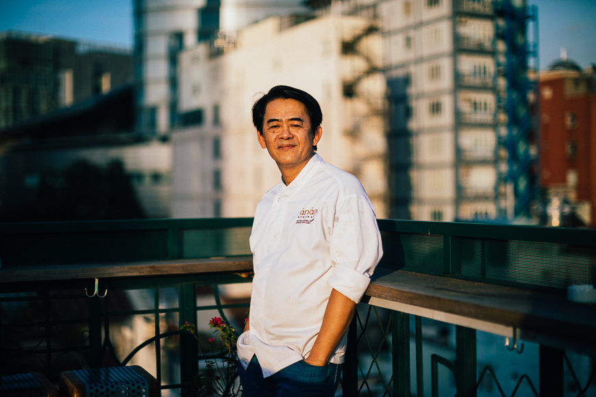 Chef Peter Cuong Franklin