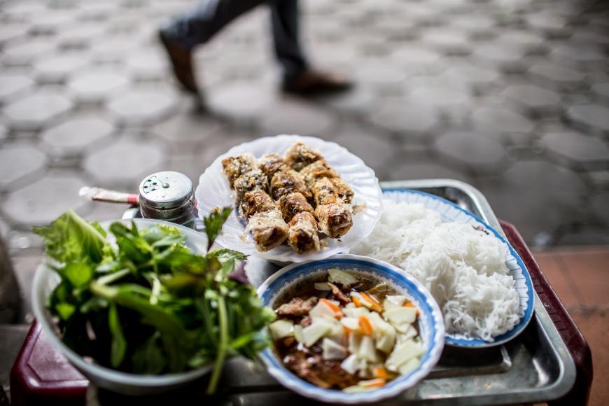 Bun Cha Hanoi Street Food