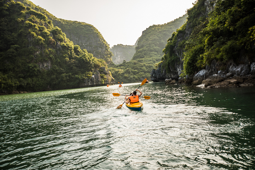 ha long bay activities