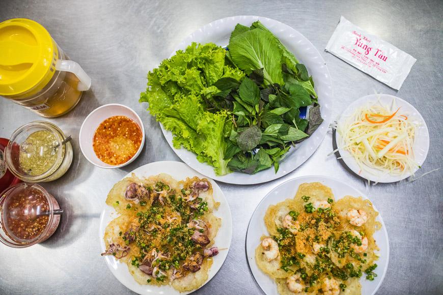 банх хот вьетнам еда