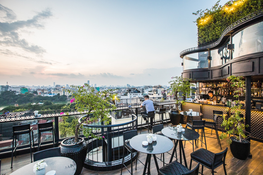 hanoi's best rooftop bar