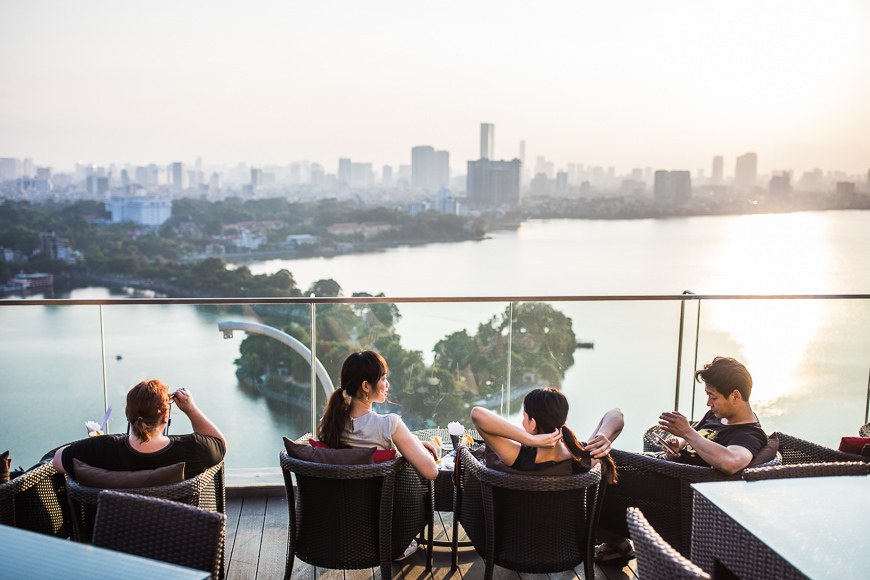 best rooftop bars in Hanoi