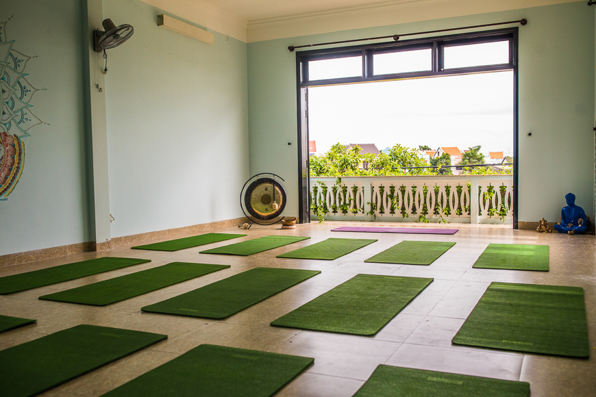 nomad yoga studio in hoi an