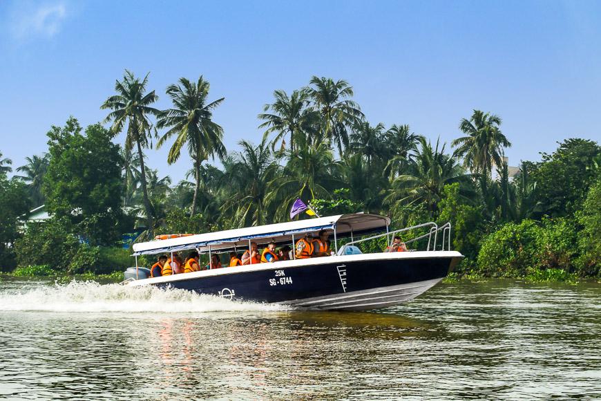 mekong delta speedboat tour