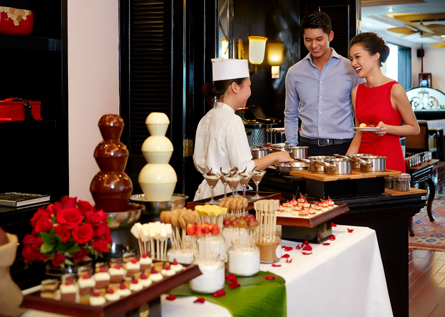 metropole hanoi chocolate buffet