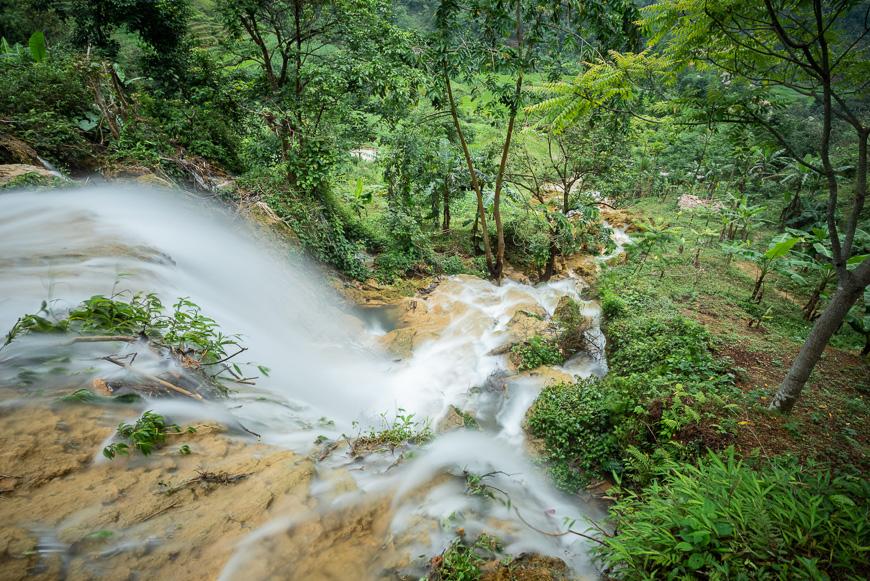 Thac Hieu Waterfall Pu Luong