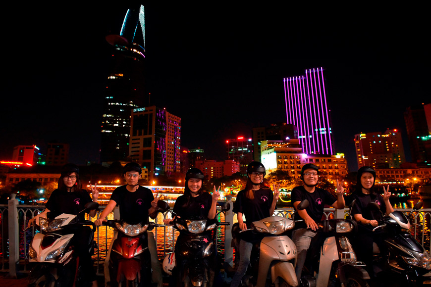 after dark tour hcmc
