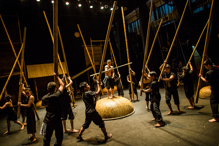 Lune production in Hoi An is a must-see.