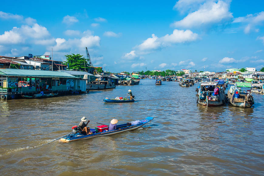 When to travel Mekong Delta