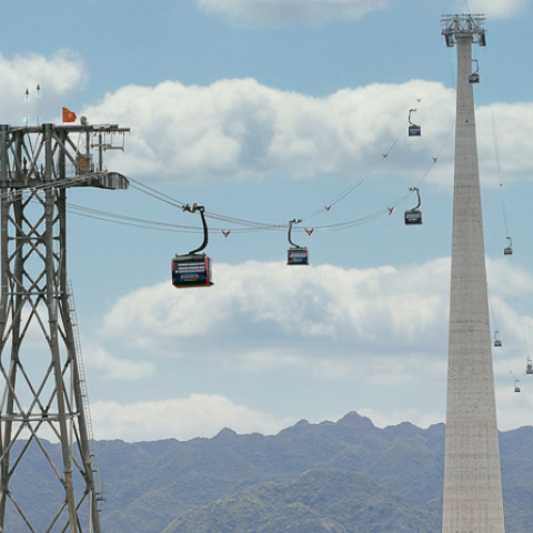 Sun World Cat Ba Cable Car