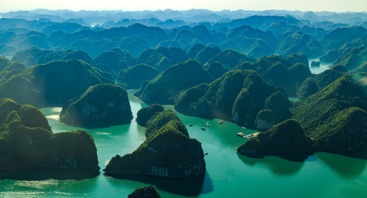 Seeing Ha Long Bay From The Sky Vietnam Tourism