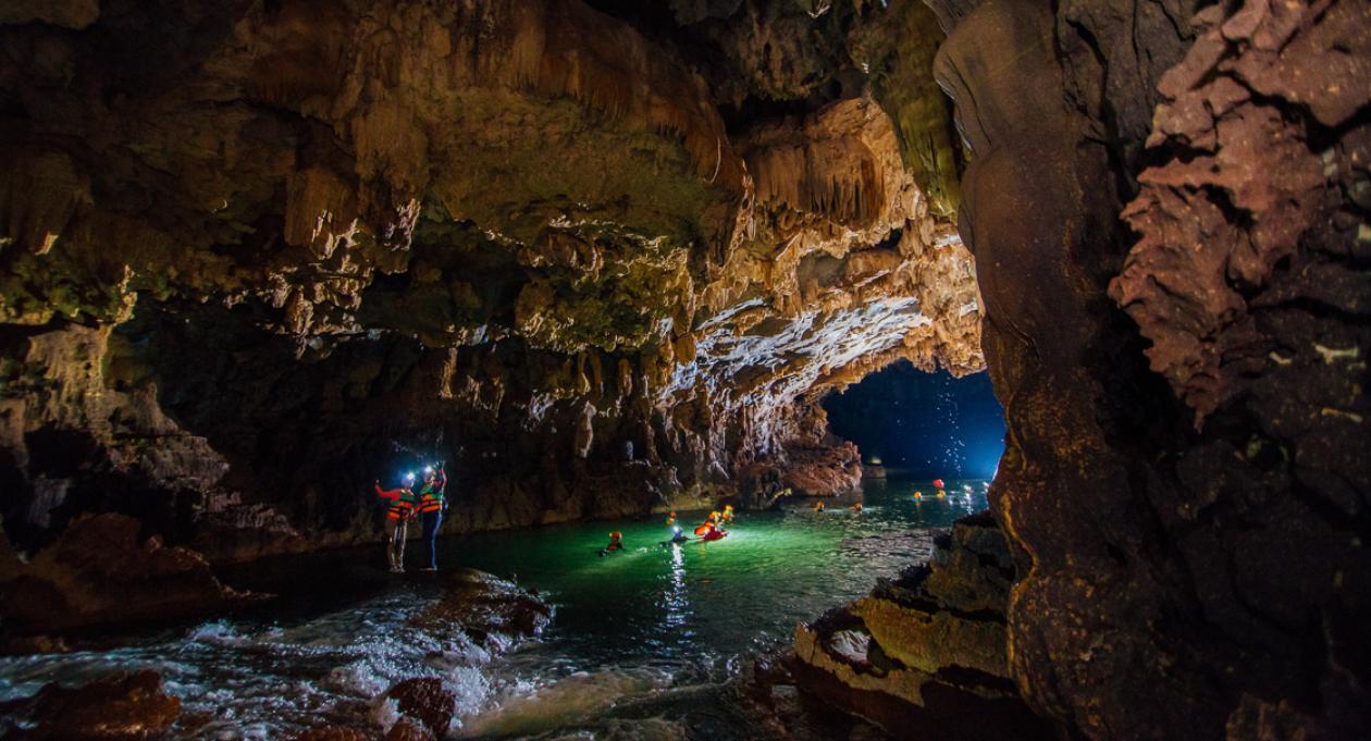 Exploring inside the Tu Lan Caves | Vietnam Tourism