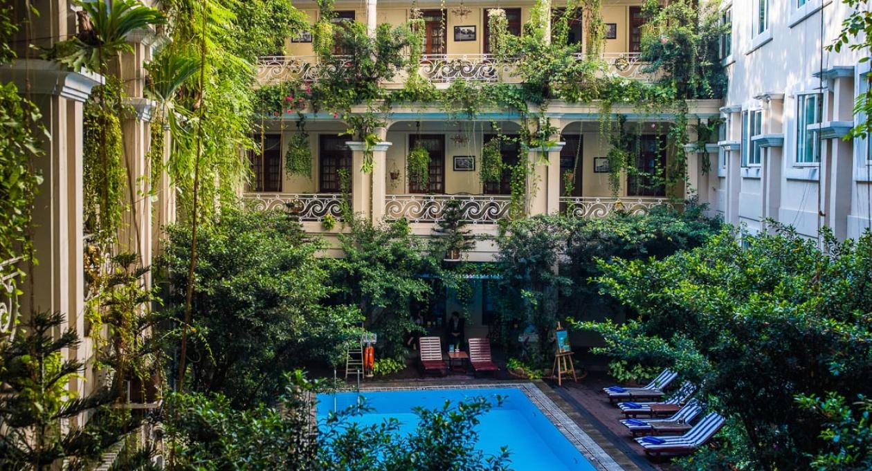 Historic Stays At Hotel Grand Saigon Vietnam Tourism